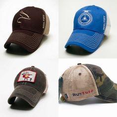 RutTuff and ReelTuff hats available at RutTuff.com