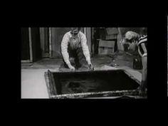 Andy Warhol screen printing