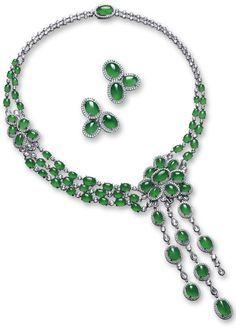 jadeite designers necklaces - Google Search