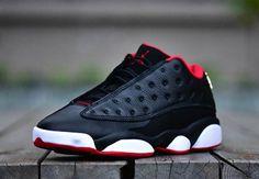 "A Detailed Look At The Air Jordan 13 Low ""Bred"" - SneakerNews.com"