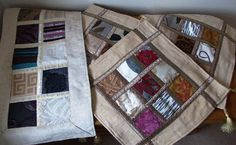 Handmade Patchwork table runner and cushion covers