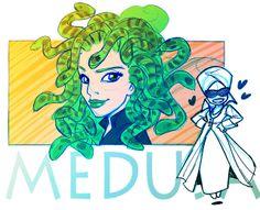 Medusa - fan art