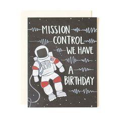 Astronaut Birthday by 1canoe2 on Etsy