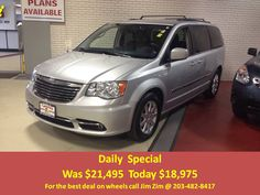 2012 Chrysler Town & Country Touring. Bluetooth, Leather, DVD, Power sliders/hatch with only 36k miles. For the best deal on wheels call Jim Zim @ 203.482.8417