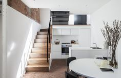 'Minimal Interior Design Inspiration' is a biweekly showcase of some of the most perfectly minimal interior design examples that we've found around the web - Interior Simple, Interior Design Examples, Interior Design Inspiration, Daily Inspiration, Creative Inspiration, Modern Interior, Cuisines Design, Staircase Design, Stair Design