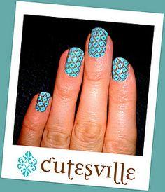 Moroccan blue nail art Nail Art Set, Moroccan Blue, Fabulous Nails, Nail Colors, Nail Art Designs, Blue Nail, Polish, My Style, Beauty Tips