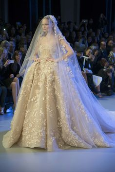 haute couture wedding gowns on pinterest | 2014 HAUTE COUTURE EVENING DRESSES | The Promise of Spring: 2014 Elie ...