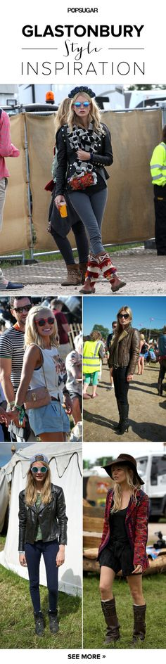 Just in time for Coachella: the best Glastonbury style around #coachellastyle #coachellaoutfits
