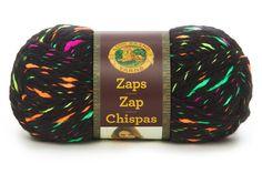 Lion Brand Zaps Yarn | AllFreeCrochetAfghanPatterns.com