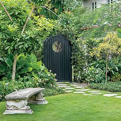 Classic Half-moon Gate - Choose the Perfect Garden Gate | Southern Living