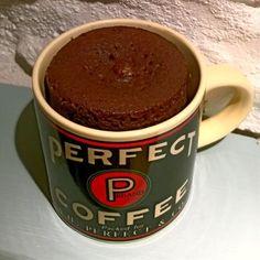 Two minute chocolate mug cake