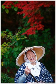 Laughing gardener (Shisen-do 詩仙堂) Japan