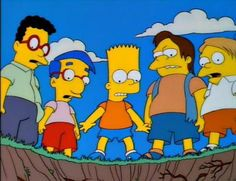 6 episódios dos Simpsons para estudar História
