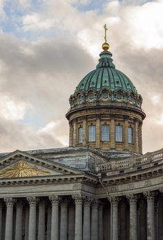 Kazan Cathedral, Saint Petersburg, Russia by Sergey Skrylev on Russian Architecture, Classic Architecture, Historical Architecture, Architecture Details, City Aesthetic, Travel Aesthetic, St Pétersbourg Rússie, Rennaissance Art, St Petersburg Russia