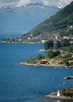 NORWAY: Nornes, Sognefjord.