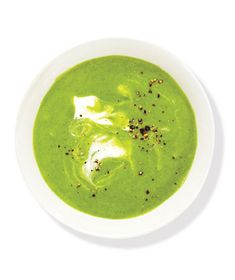 Creamy Broccoli and Spinach Soup Recipe