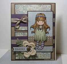 Crocheted Gorjuss Girl by Kauai17 - Cards and Paper Crafts at Splitcoaststampers