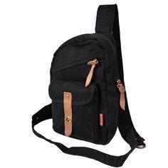 Fashion gadget pack, unisex cotton bag, chest packs, 4 colors