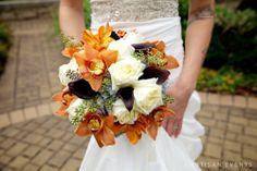 A beautiful fall bouquet by Elizabeth Wray Design