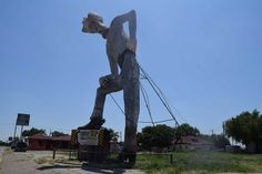 A well-known, 47-foot cowboy in Canyon is scheduled to be renovated in the coming months, but not everyone who considers the tall Texan family is on board with the planned update.