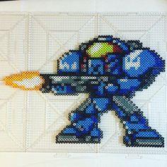 Marine StarCraft perler beads by Jake Tastic