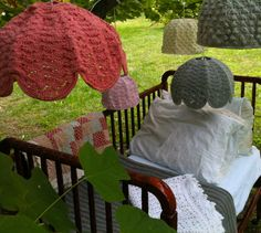 Handmade Crochet Lampshades