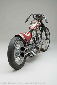 Kevin Baas dual cared panhead