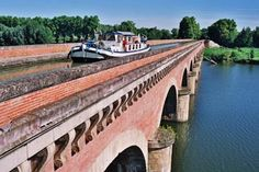 Midi-Pyrénées -Tarn-et-Garonne - Pont Canal du Midi