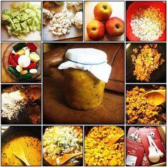 Een recept om zelf piccalilly te maken- Es' Factory Gebruik ZURE appels!!!