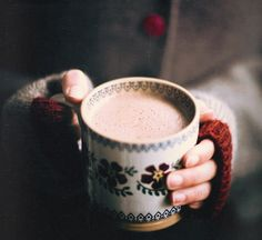 Inspiration mmmmm coffee and hot chocolate ♥
