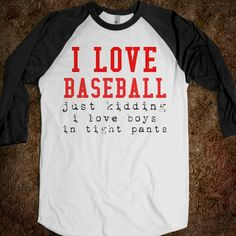 Funny Baseball Tee