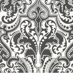 Lancaster Damask By Ralph Lauren This product Sold at Mahones Wallpaper Shop at discount prices. Bathroom Wallpaper Navy, Go Wallpaper, Damask Wallpaper, Trendy Wallpaper, Farmhouse Paint Colors, Miss Marple, Ralph Lauren, Designers Guild, Lancaster