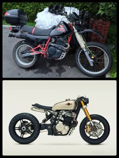 "1987 Honda XL 600 R Cafe Racer build - ""Honda Cafe Cross"""