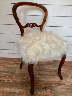 Farmhouse Victorian Chair by ChairWhimsy on Etsy