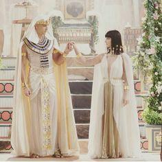 Dez minutos para a novela  #osdezmandamentos #NovelaOsDezMandamentos #Ramsés #Nefertari