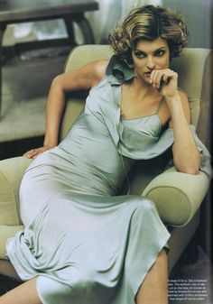 Linda Evangelista | Photography by Steven Meisel | For Vogue Magazine US | March 1994