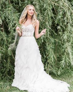 Had to show off this fun dress from the awesome bridal boutique @onefinedaybridal @brittanym.wright #gembrides http://gelinshop.com/ipost/1522070753150200126/?code=BUfe0kkh2k-