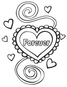 Happy Anniversary Drawing Coloring Pages  Anniversary 60