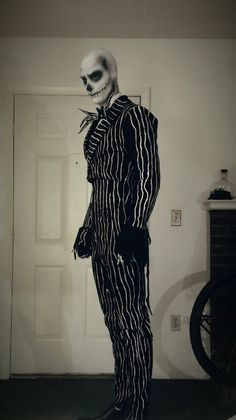 Jack Skellington cool cosplay