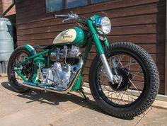 'The hairy fella in the shed' Custom Moped, Custom Paint Motorcycle, Scrambler Custom, Custom Choppers, Custom Motorcycles, Custom Bikes, Suzuki Cafe Racer, Cafe Racer Build, Cafe Racers