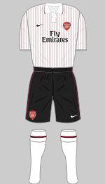 2009-2010 Arsenal Kit (3rd)