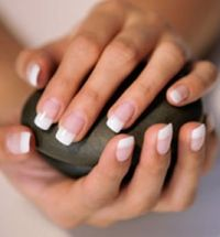 the timeless french manicure