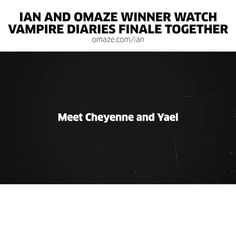 Ian Somerhalder - 17/03/17 - Time's running out win a trip to hang with me at The Vampire Diaries convention! GO: https://www.omaze.com/experiences/ian-somerhalder-4?utm_source=twitter.com&utm_medium=social&utm_content=IanSomerhalder&utm_campaign=experiences.ian-somerhalder-4&utm_term=Week3-Post2&oa_h=40uqkh  https://twitter.com/iansomerhalder/status/842788661515112449 https://www.youtube.com/watch?v=MmyOK1f6WL4 - Twitter / Instagram Pictures