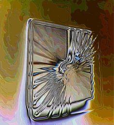 broken mirror by Stefani Wehner at ArtWanted.com