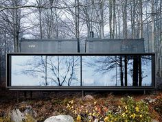 The Vipp Shelter is a plug-and-play prefab home that can be placed just about anywhere