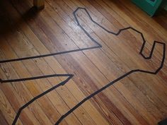 Definitely have to tape or chalk a body outline for the spy party
