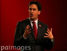 Labour leader Ed Miliband speaks to an audience at the Glasgow Royal Concert Hall whilst on the Scottish Referendum campaign trail.