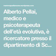 Alberto Pellai, medico e psicoterapeuta dell'età evolutiva, è ricercatore presso il dipartimento di Scienze Bio-Mediche dell'Università degli Studi di Milano, dove si occupa di prevenzione in età evolutiva. Nel 2004 il Ministero della Salute gli ha conferito la medaglia d'argento al merito della Sanità pubblica. È autore di molti bestseller per genitori, educatori e ragazzi,…