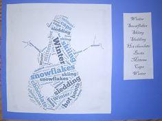 Mrs. T's First Grade Class: Language Arts using Tagxedo