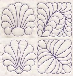 52 Ideas For Longarm Quilting Designs Squares Swirls Quilting Stitch Patterns, Machine Quilting Patterns, Quilt Stitching, Quilting Tutorials, Quilt Patterns, Quilting Projects, Henna Patterns, Quilting Ideas, Embroidery Patterns